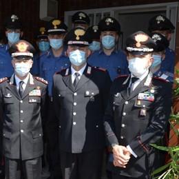 Il generale Nistri in visita a Bergamo I militari in campo per gestire la pandemia