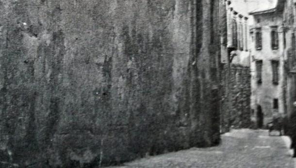 Luoghi spariti di Città Alta Il teatrino di San Cassiano