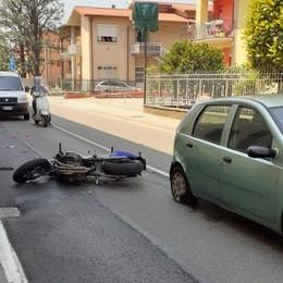 Schianto in moto a Presezzo Grave un uomo di 39 anni
