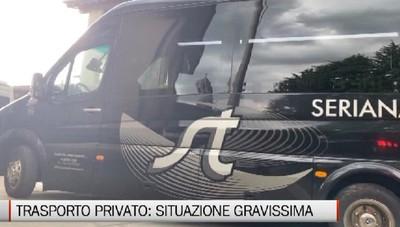 Trasporto privato, sale la protesta degli addetti bergamaschi