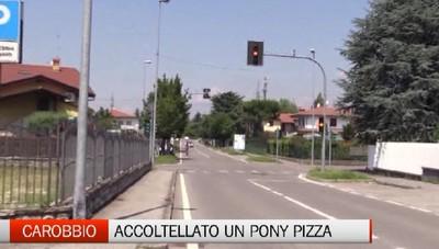 Carobbio - Discussione degenera, accoltellato pony pizza di Zandobbio