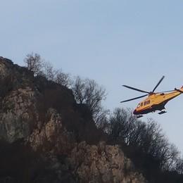 Castione, due giovani alpiniste soccorse in elicottero: stanno bene