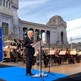 Il Requiem per le vittime del covid- Video/Foto   Mattarella: «Qui il cuore dell'Italia ferita»