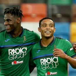 L'Atalanta non si ferma, segna e soffre  Zapata e due gioielli di Muriel affondano l'Udinese