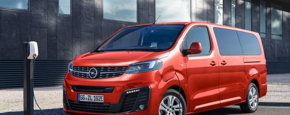 Opel Zafira-e Life Multiposto elettrico