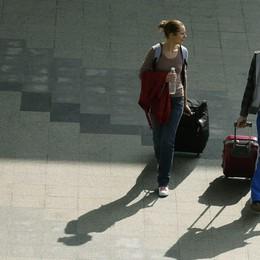 Voli, vietati i trolley a bordo Enac: «Ragioni sanitarie»