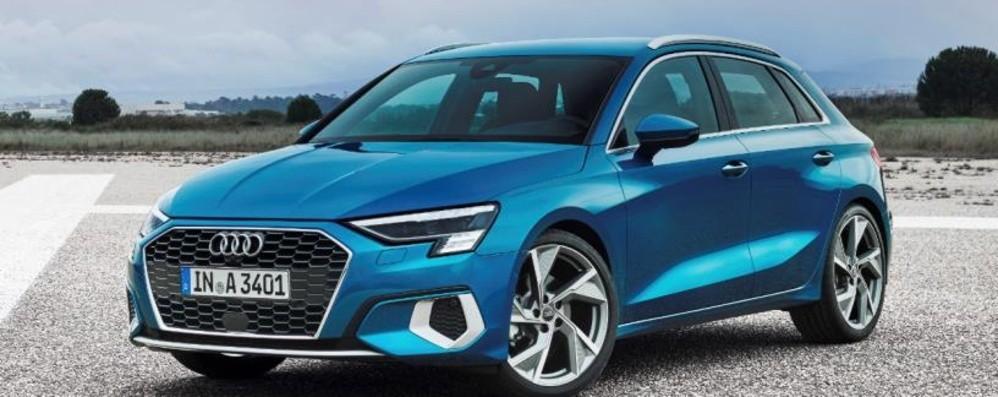 Nuova Audi A3 Sportback Progress you can feel