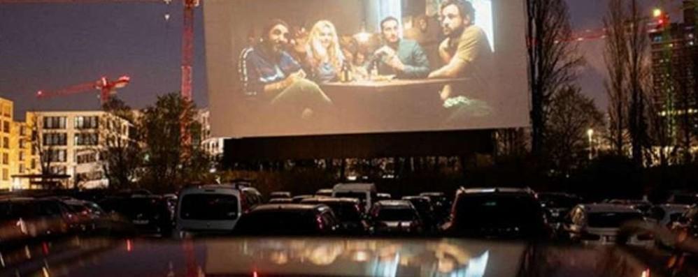 Tuffo negli anni Cinquanta Cinema Drive-in alla Celadina