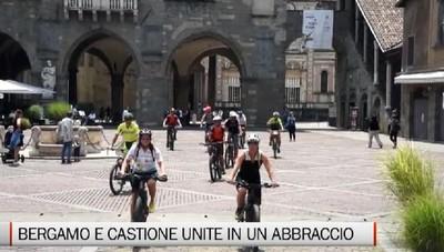 In e-bike per unire Bergamo e Castione