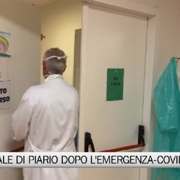 Piario, la riorganizzazione post Covid dell'ospedale Locatelli