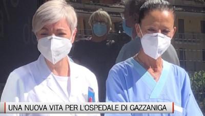 Gazzaniga, la ripartenza dell'ospedale post Covid
