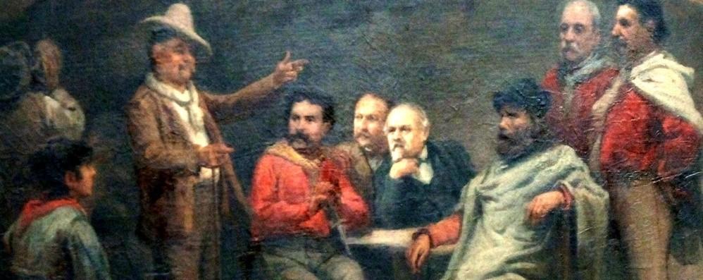 Gli oscuri «Fatti di Sarnico» Garibaldi e l'ambiguo Rattazzi