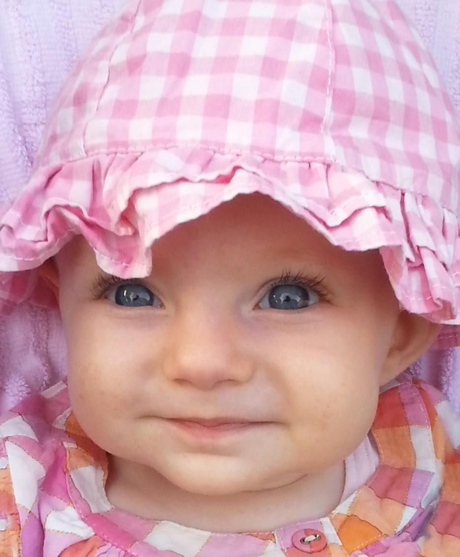 Il bellissimo sorriso degli occhi di Gaia