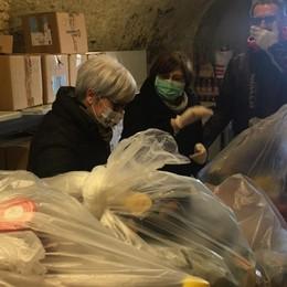 «In due mesi tante famiglie crollate» Romano, raddoppiati i pacchi alimentari