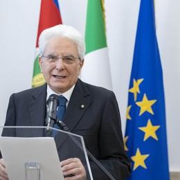 Mattarella sarà a Bergamo il 28 giugno per la commemorazione vittime covid