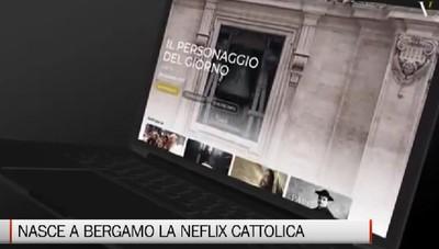 Nasce a Bergamo la «Netflix cattolica» Lunedì il taglio del nastro
