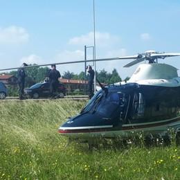 Elicottero e reparto cinofilo in azione Cento persone controllate, due arresti