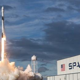 Falcon 9, ingegnere bergamasco «guida» il rientro sulla Terra