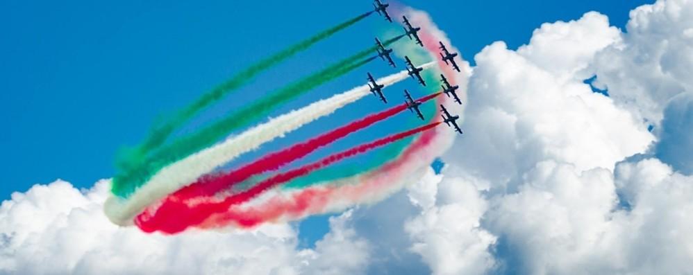 Frecce Tricolori per la visita di Mattarella Bergamo e Brescia ci provano insieme