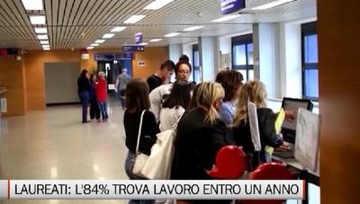 Università: l'84% dei laureati a Bergamo trova lavoro entro un anno