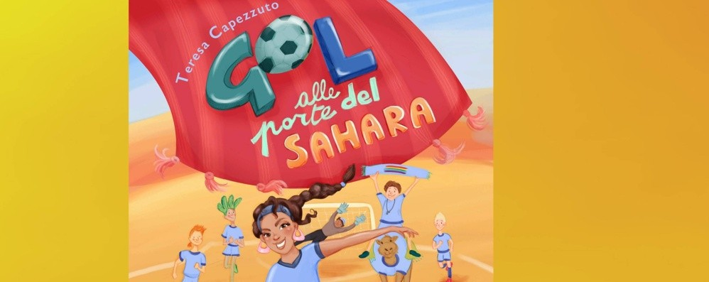 Capezzuto esordisce nella narrativa Arriva «Gol alle porte del Sahara»