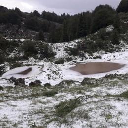 Forti grandinate in Val Brembana Colpiti i pascoli d'alpeggio - Foto
