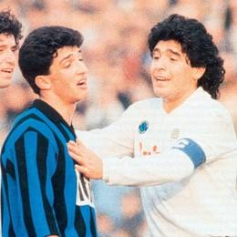 Napul'è... Maradona, che contro l'Atalanta non l'ha quasi mai vista. I suoi incubi? Osti e Bonacina. Foto e video