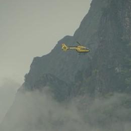 Sentiero Curò-Coca, cade per 150 metri  Muore escursionista di 72 anni