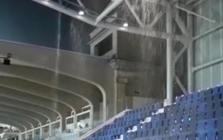 Stadio, piove nella curva Nord Iniziati i lavori alla Ubi