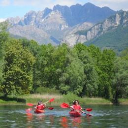Kayak, canoa, gommoni, rafting a Bergamo e dintorni