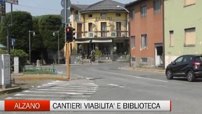Alzano Lombardo, la ripartenza dei lavori pubblici