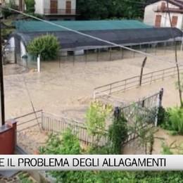 Albano Sant'Alessandro e gli allagamenti dopo le bombe d'acqua