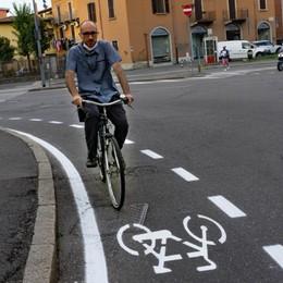 Arrivano le corsie ciclabili Bergamo tra le prime d'Italia