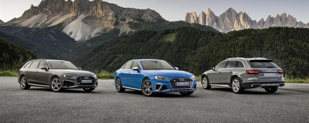 Audi A4: nuovi allestimenti e motori