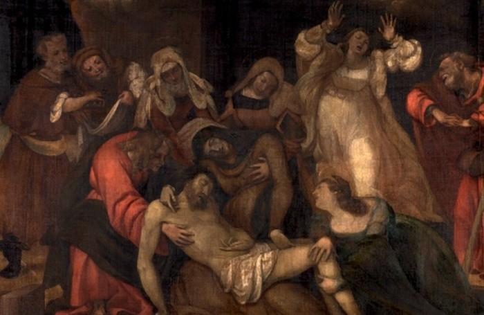 Lorenzo Lotto, il Compianto sul Cristo morto