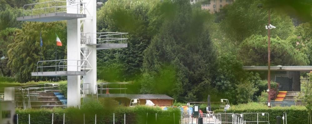 Bergamo, riparati i guasti alle pompe Le piscine Italcementi riaprono