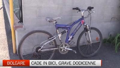 Bolgare, grave dodicenne dopo una caduta dalla bicicletta