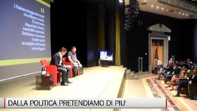 Calenda a Bergamo: «Dalla politica dobbiamo pretendere di più»