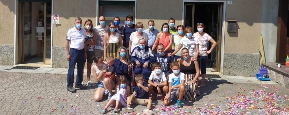 Coronavirus, guarito dopo 144 giorni Valcanale in festa: «Bentornato Marcello»