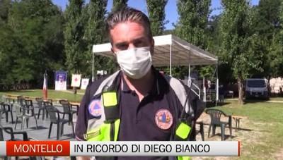 Montello, il commosso ultimo saluto a Diego Bianco