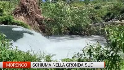 Morengo, schiuma e odor di zolfo nella Gronda Sud