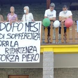 Nembro, in ospedale 151 giorni per il covid Piero torna a casa: «Mi sento un reduce»