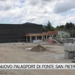 Ponte San Pietro, ecco il nuovo palazzetto dello sport