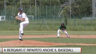 Sport, a Bergamo è ripartito anche il baseball