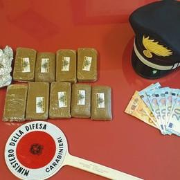 Trovata con un chilo di hashish in casa Osio, arrestata 35enne pluripregiudicata