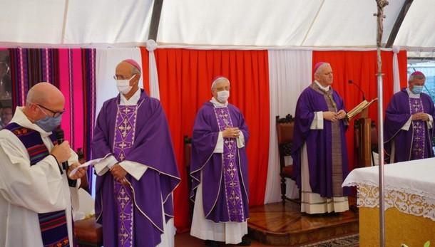 Verdellino, l'addio al vescovo Scarpellini «Missionario nella  gioia del Vangelo»