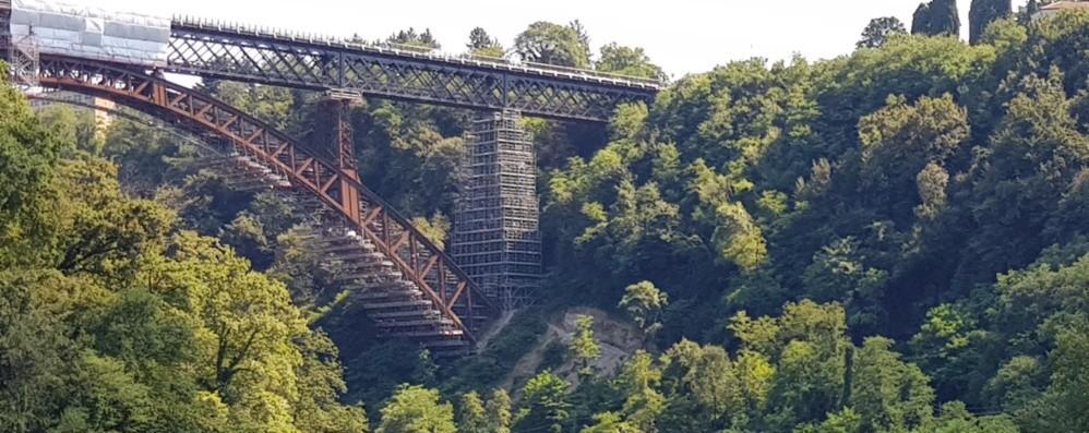 A Calusco stessa capacità per il ponte  «Potrà sostenere gli stessi treni di 2 anni fa»