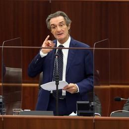Fontana risponde in Consiglio regionale Caso camici: contro di me polemica sterile