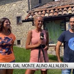 Gente e Paesi con il Monte Alino, Carona e la conca dell'Alben