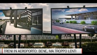 La stazione del treno a Orio sarà pronta a fine estete 2024.